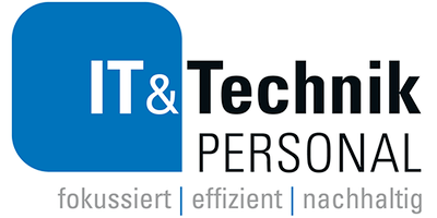 IT Technik Logo Claim 2 mittel